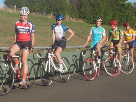 Wednesday Night Track Meet at the Taupo Velodrome